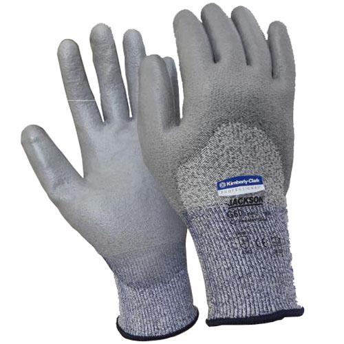 JACKSON SAFETY* G60 Level 3 Knuckle Coated Cut Resistance Gloves