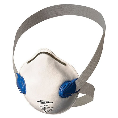 JACKSON R10 PARTICULATE RESPIRATOR N95 DUAL VALVE