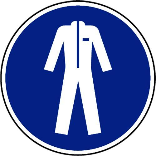 """""""USE PROTECTIVE CLOTHING"""" LOGO"""