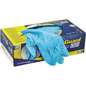 KLEENGUARD* G10 Arctic Blue Nitrile Gloves