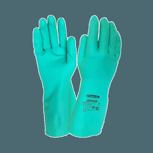 JACKSON SAFETY* G80 Nitrile Chemical Resistance Gloves