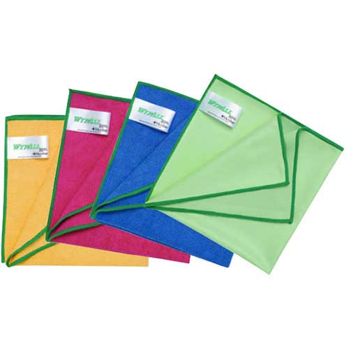 WYPALL Microfibre Cloth with Microban 30 x 30 cm
