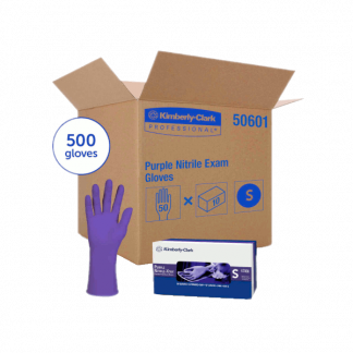 Purple Nitrile-Xtra* Exam Glove 12