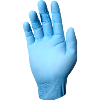 DEVALL HI-PROTECTION BLUE NITRILE GLOVE