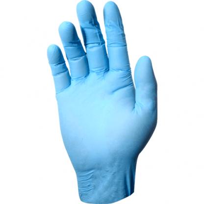 DEVALL HI-PROTECTION BLUE NITRILE GLOVE