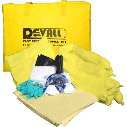 DEVALL FAST PACK Chemical Spill Kit