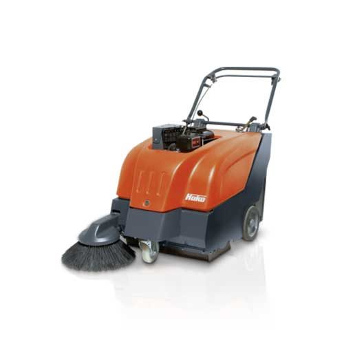 HAKO P650(GASOLINE) WALK BEHIND VACUUM SWEEPER
