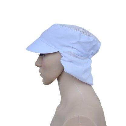 Devall Topi HairNet Kain Putih All Size