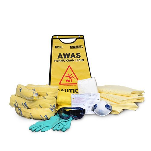 DEVALL SIGNAGE PACK Chemical Spill Kit 11 Gal