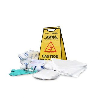 DEVALL SIGNAGE PACK Oil Spill Kit 11 Gal