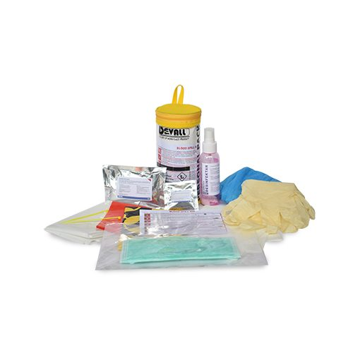 DEVALL PERSONAL PACK Blood Body Spill Kit