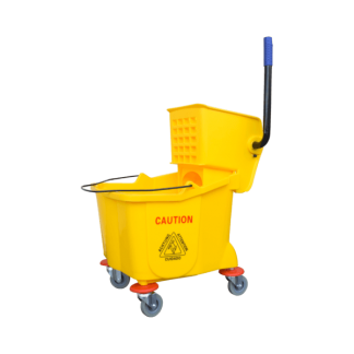 ANTUS Single Bucket & Wringer Set Yellow