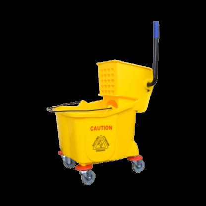 ANTUS Single Bucket & Wringer Set Yellow