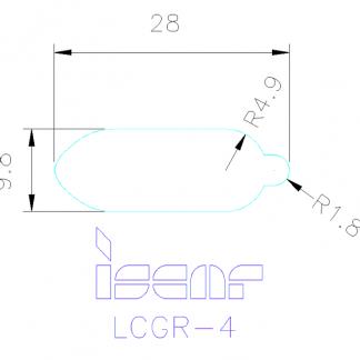 ISCAR LCGR-4 Clamp - PT Graha Multisarana Mesindo