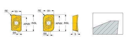 Iscar HM90 APKT 1003PDR - PT Graha Multisrana Mesindo