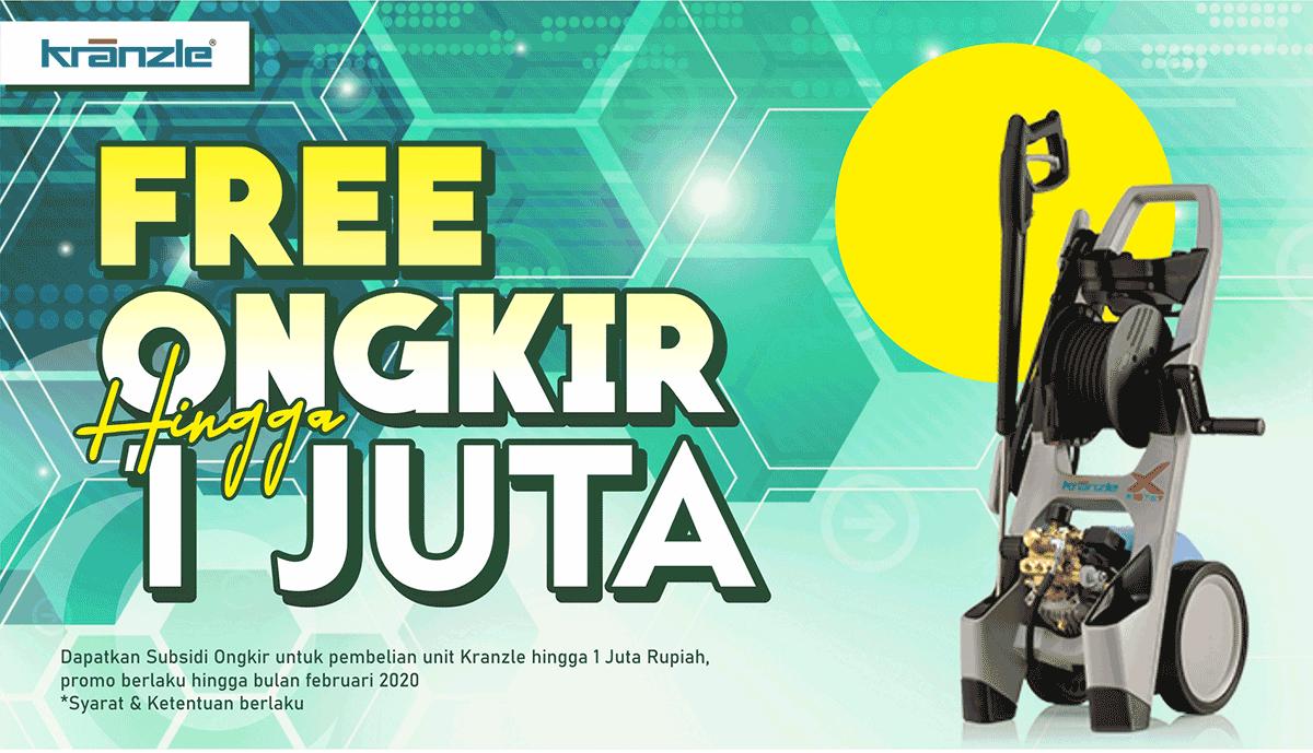 Free Ongkir Pembelian Produk Kranzle High Pressure Cleaner