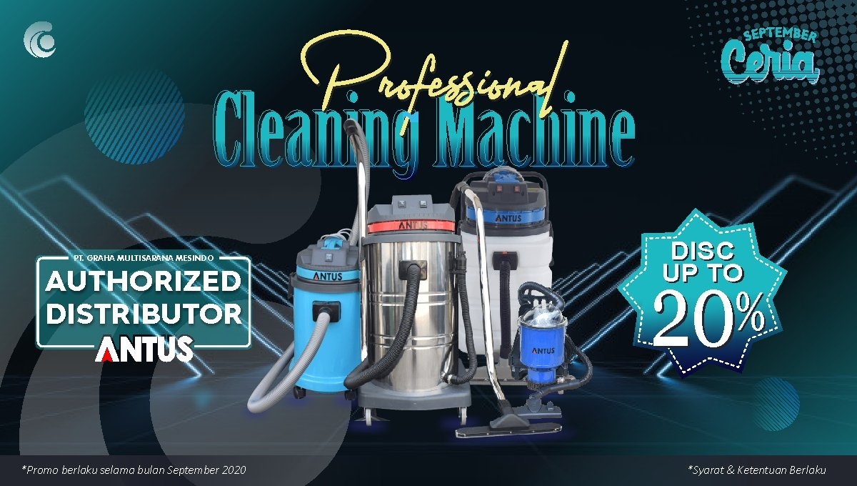 Antus Professional Cleaning Machine