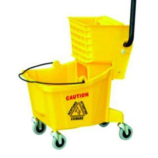 ANTUS Single Bucket Wringer Set 36L Yellow - PT Graha Multisarana