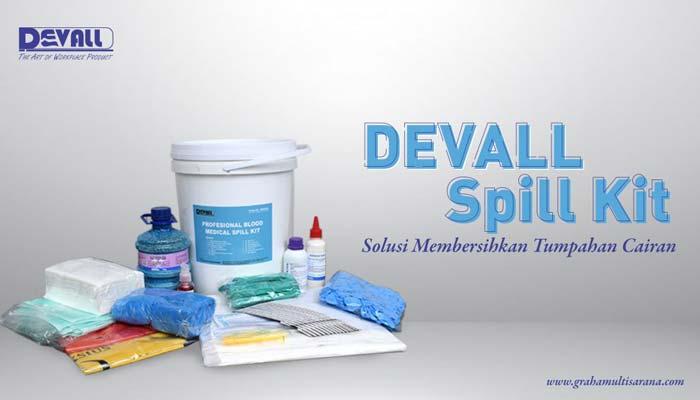 DEVALL Spill Kit Solusi Membersihkan Tumpahan Cairan