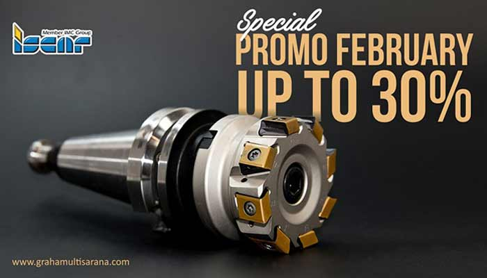 ISCAR Special Promo February up tp 30%