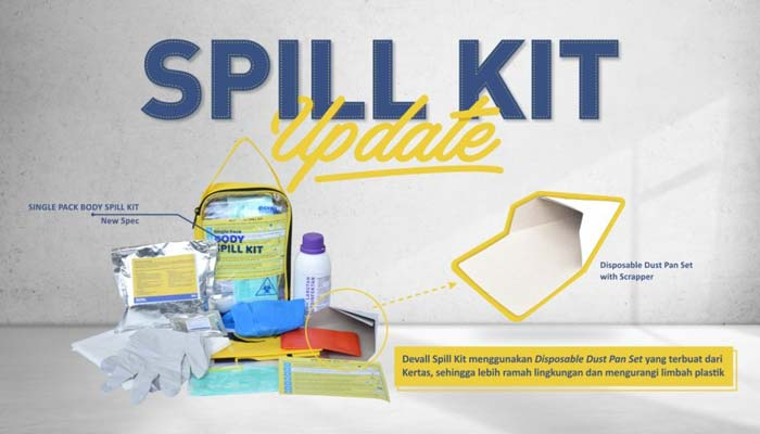 Medical Spill Kit Konten Update
