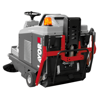LAVOR HYPER SWL R1000 ET Ride-On Sweeper w/ Bin Up
