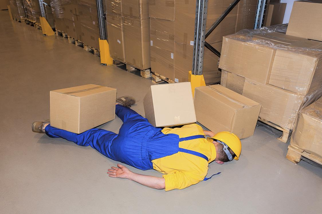 kecelakaan di area kerja