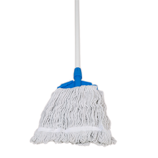 ANTUS Wet Mop Cotton White 350 Gr Set with Stick