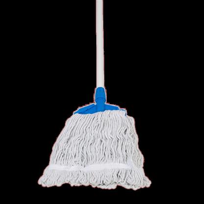 ANTUS Wet Mop Cotton White 350 Gr Set with Stick