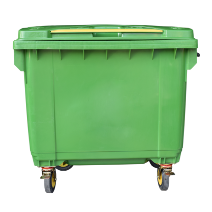 ANTUS Mobile Waste Container 660 lt Green