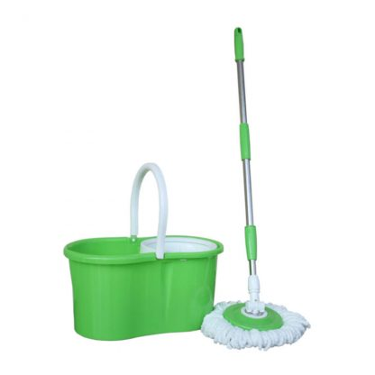 ANTUS Spin Mop Bucket Kit with Round Mop