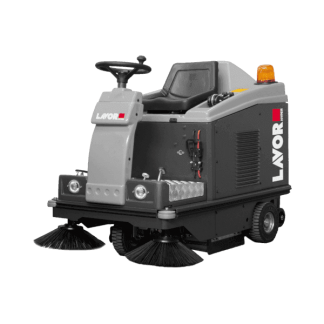 LAVOR HYPER SWL R 1000 ET Ride-On Sweeper with Front Light