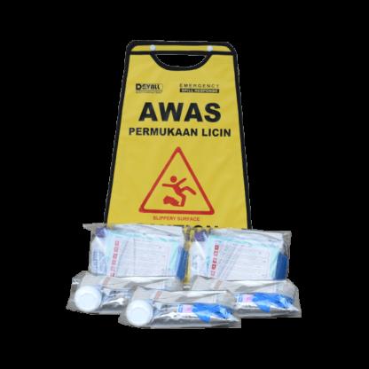 DEVALL Small Pack Blood Spill Kit 5 Spill