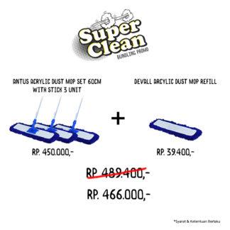 Promo Bundle Acrylic Dust Mop Set
