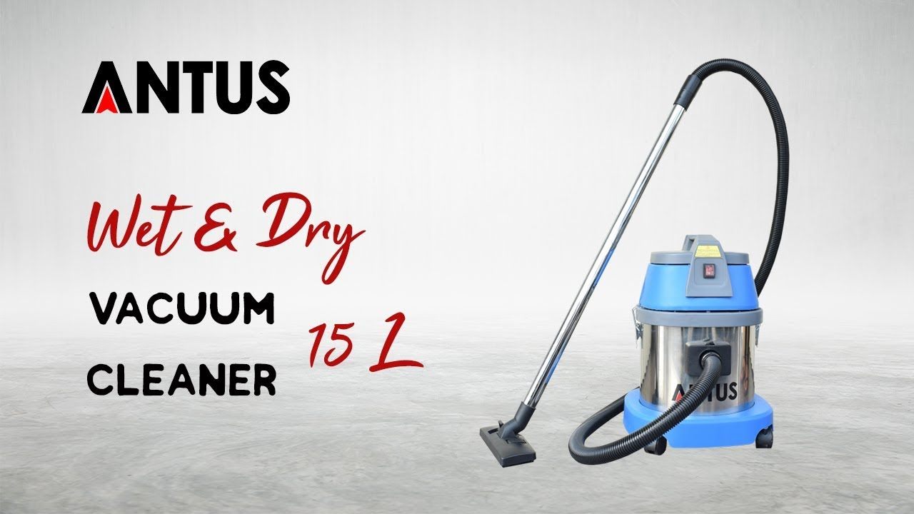 ANTUS WET & DRY Vacuum Cleaner 15 L
