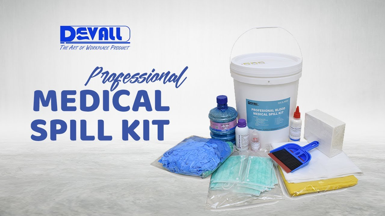 Professional Medical Blood Spill Kit