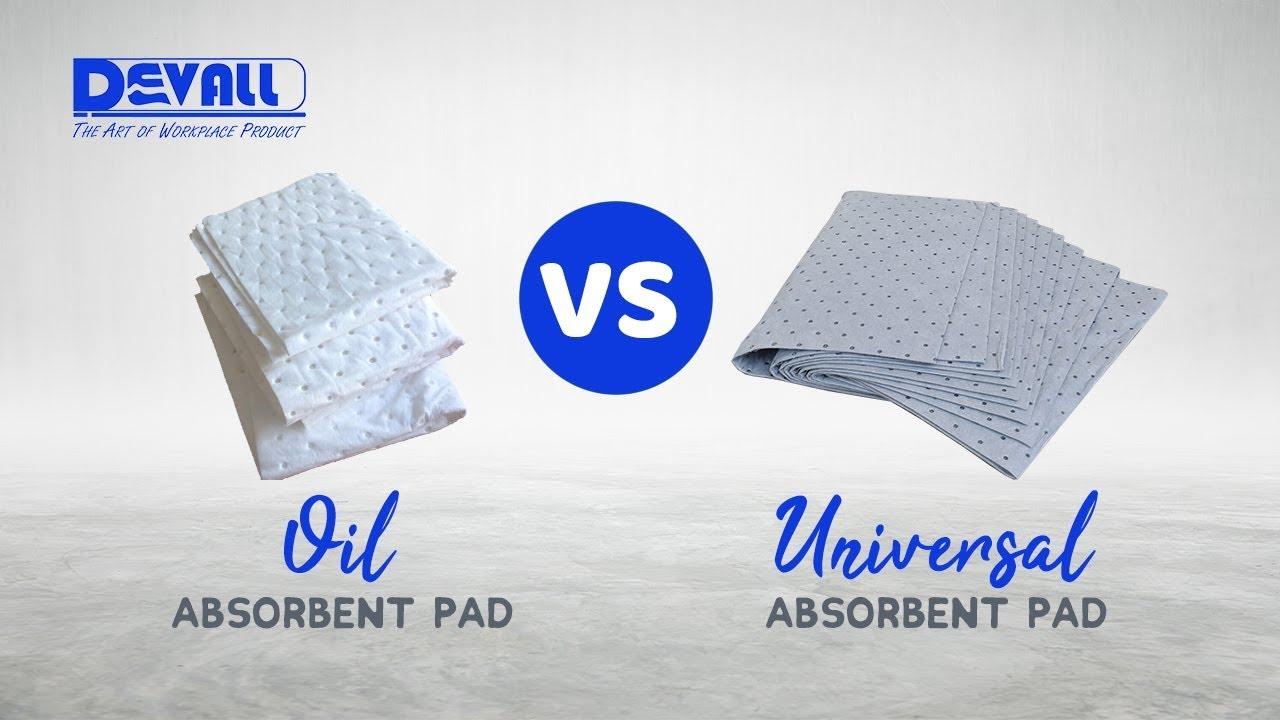 Komparasi Absorbent Pad (OIL VS UNIVERSAL Absorbent Pad)