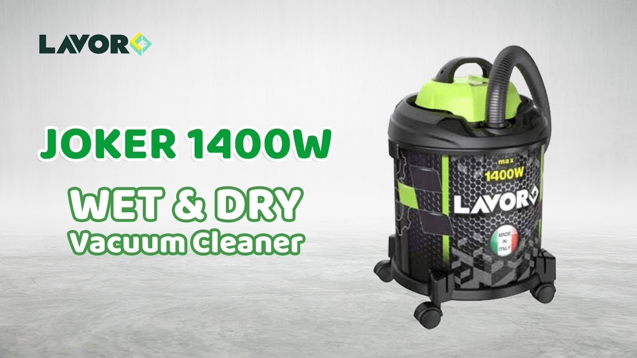 LAVOR WASH JOKER Wet & Dry Vacuum Cleaner