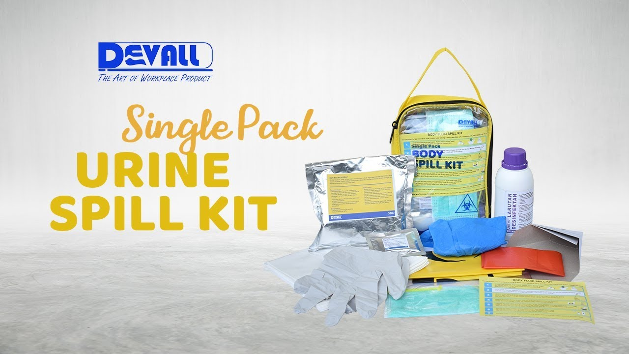 Single Pack Body Spill Kit (Urine)