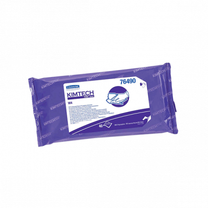 KIMTECH PURE* W4 Sterile Pre Saturated Wipers
