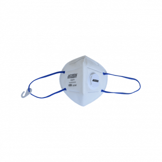 JACKSON SAFETY R10 KN95 Foldflat Mask Plus with Valve