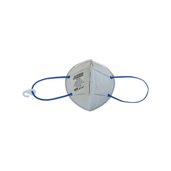 JACKSON SAFETY R10 KN95 Foldflat Carbon Mask Plus (No Valve)