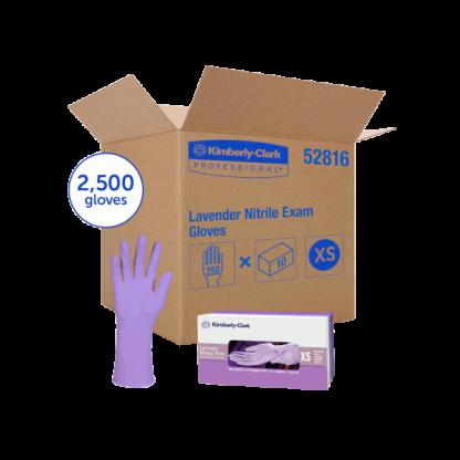 KIMBERLY-CLARK* Lavender* Nitrile Exam GlovesKIMBERLY-CLARK* Lavender* Nitrile Exam Gloves