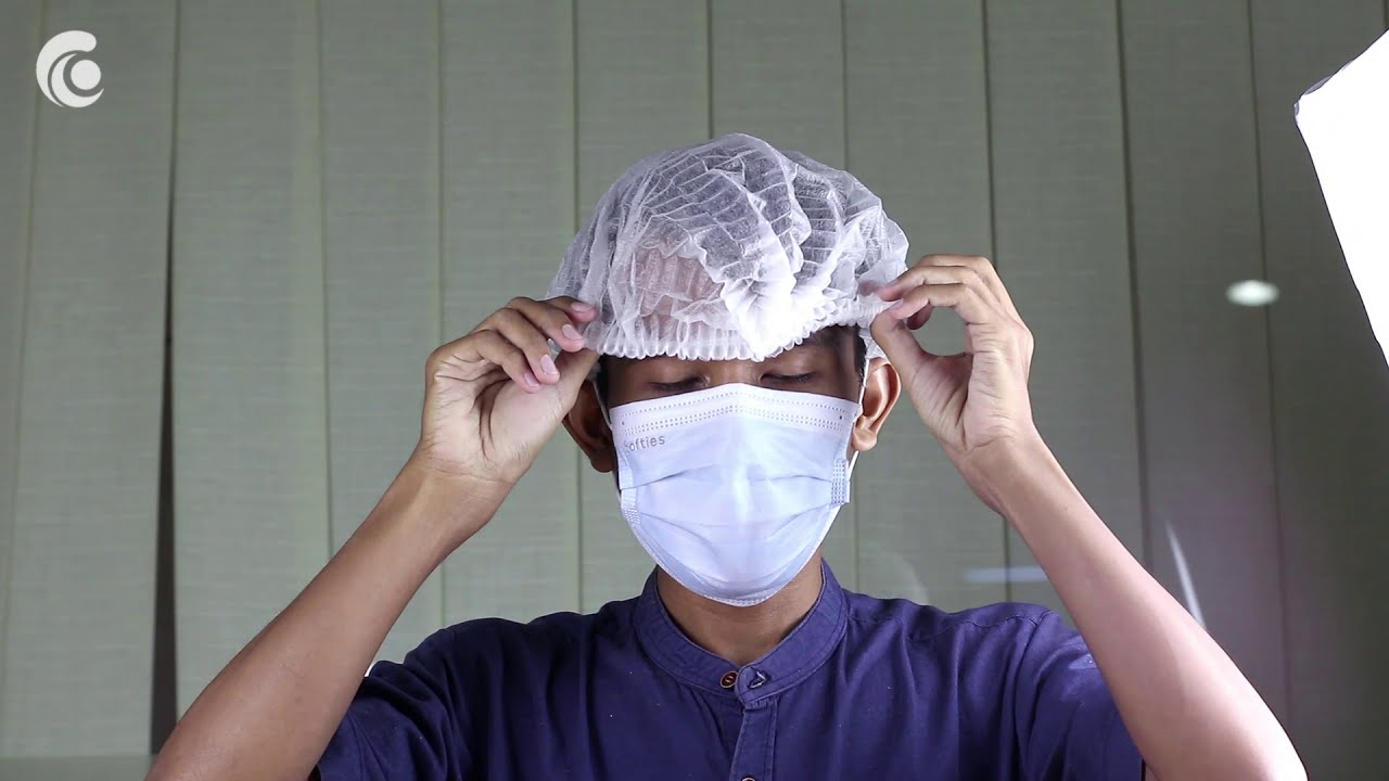 DEVALL Non Woven Premium Hair Net (Mob Cap)