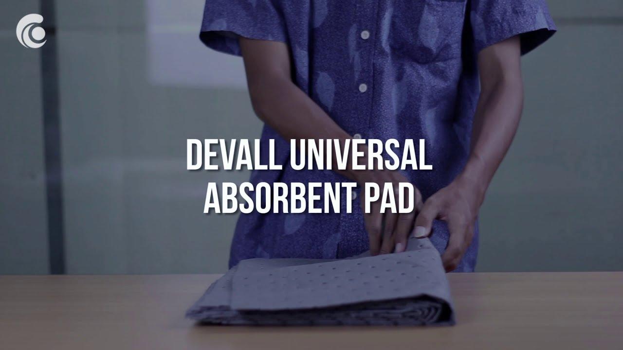 DEVALL Universal Absorbent Pad