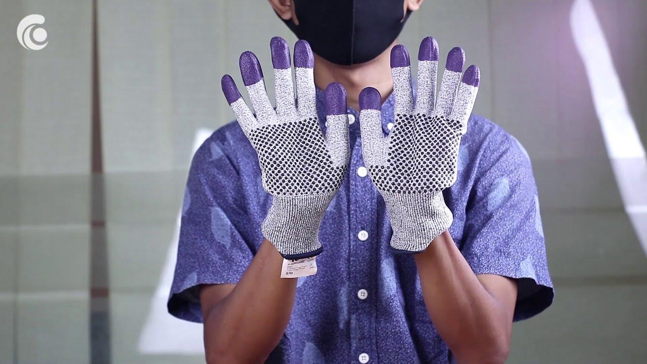 KleenGuard G60 Purple Nitrile Cut Resistant – Sarung Tangan Safety