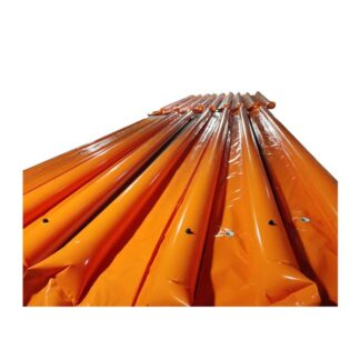 PVC Inflatable Spill Containment Boom 20m